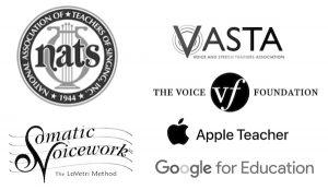 NATS VASTA Somatic Voicework Logos